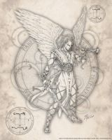Archangel Gabriel by jayfrench