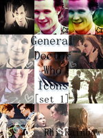 General Doctor Who -set 1- by RhiiRainbow