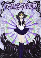 Sailor Saturn by Willowanderer