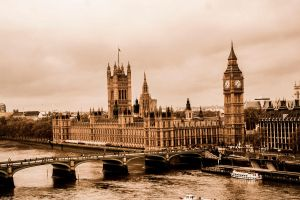 the houses of parliament 2 by Katyma