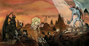 NO PARADISE FOR THE DAMNED 2009 by GrisGrimly