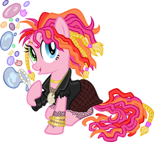 Pinkie Pie Delirium (The Sandmare) by tygerbug