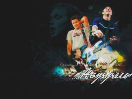 Mark Hoppus - Wallpaper by craziigiirl