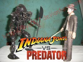 Indiana Jones Vs Predator by ryo007