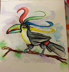 Toucan King by Grims-tales123