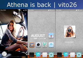 Athena is back by vito26x8