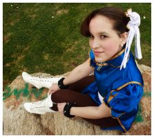 Ely as Chun-Li SF by 61x