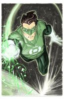 Green Lantern by FreddieEWilliamsii