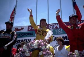1984 Dallas Grand Prix Podium by F1-history