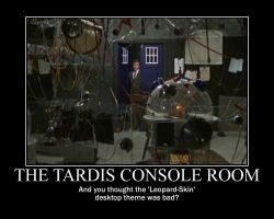 Motivation - The TARDIS Console Room by Songue