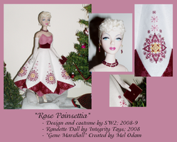 Rose Poinsettia Gene Doll by ShadowWingLG