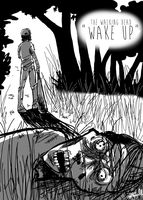 The Walking Dead: Wake Up by yip-yop
