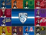 Battle of the Bands: Pac12 by AgentMidnight