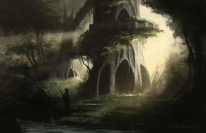 Forest Temple by EinarNordstrom