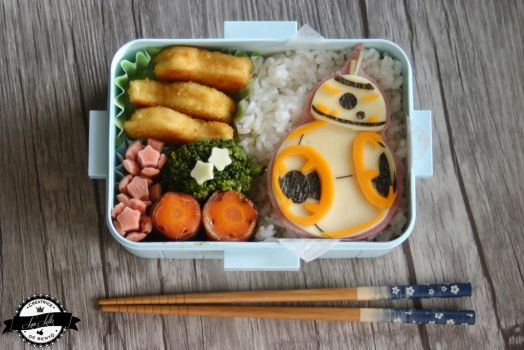 Star Wars Bento, BB-8 in a box! by RiYuPai