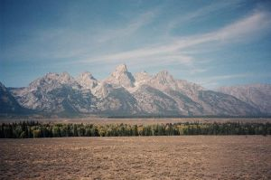 Grand Tetons in Color by Santavez