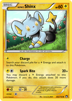 TheAlphaRanger Fake Cards: Alpha's Shinx by TheAlphaRanger