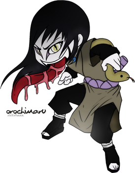 Orochimaru Painted in PS by NoRullezzz