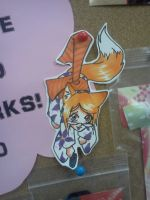 Foxgirl Paper child Nashicon by Kyuubichowderfan