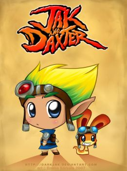 -Jak and Daxter- by ZombiDJ