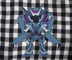 Soundwave Prime Chibi Dance by Eotix