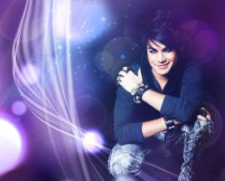 Adam Lambert wallpaper v1 by fionaadam