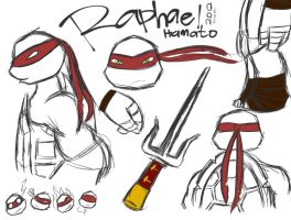 Raphael Sketch by KatanaBerry