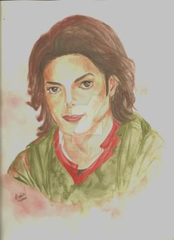 Michael Jackson - Earth Song by mjdrawings