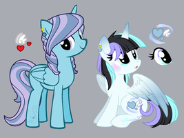 Soarheart Redesign comparison by Jojuki-chan