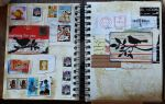 sketchbook pages 4 and 5 by lonesomeaesthetic