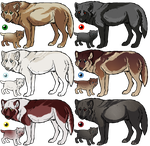 Adoptables LOWERED by Completeperfection