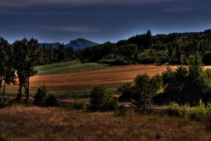 French Country side by Leeby