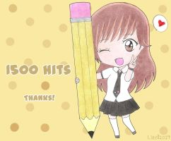 1500 Hits! by Lizally
