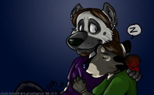 i want to be with you in ... by Grion