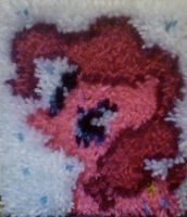 Pinkie Pie Rug by TheInsanityZone