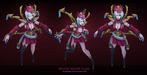 Blood Moon Elise by sstrikerr