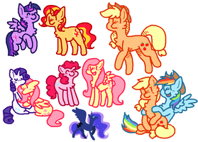 pones by liighty
