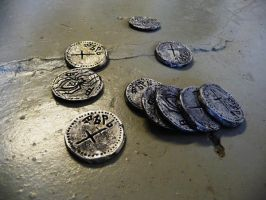Drow coins by Sharpener
