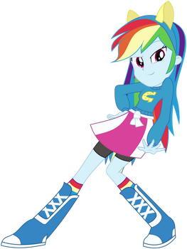 Rainbow Dash - Come At Me Bro by masemj