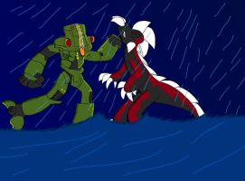 Cherno Alpha Vs Spike by fossil-fighter