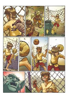 GOLEADOR tome 1 - page 5 preview by DenisM79