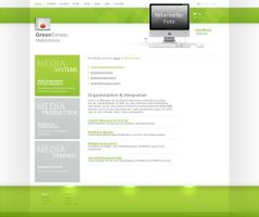 GreenTomato Homepage by mike-hege
