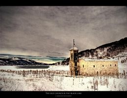 Old Church and The Black Lake by Bojkovski