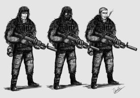 Commission: Spetsnaz Survivor by ThomChen114