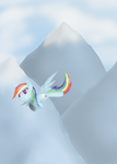 Soaring through the Mountains by IDSmehlite