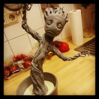 Baby Groot - Added the primer by IronMask90