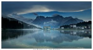 Lago Misurina by JamesRushforth