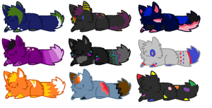 Cat Adoptables 2 - Open by Adoradoptables