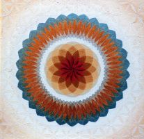 Toroidal Floral by sacredGEOart