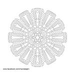 Free Mandala Line Art Day 1 of 10 by Mandala-Jim
